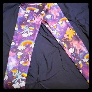 My little pony purple leggings